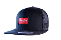 Snurfer Patch 5 Panel Trucker Hat [Black/Red]