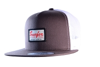 Snurfer Patch 5 Panel Trucker Hat [Brown]