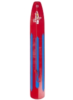 The Classic Rocket Red Snow Surfer