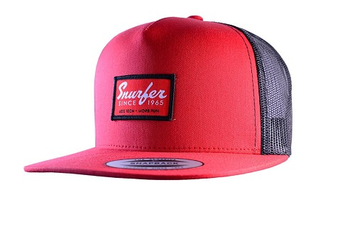 Snurfer Patch 5 Panel Trucker Hat [Red/Black]